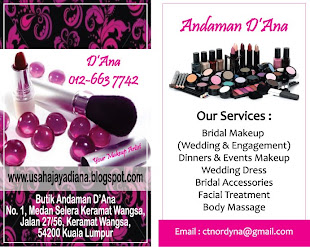 MY BUSINESS CARD - Please call for Appointment (012-663 7742_Diana)