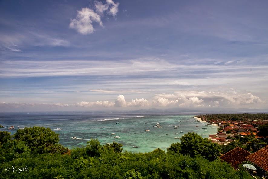 vue de Lembongan