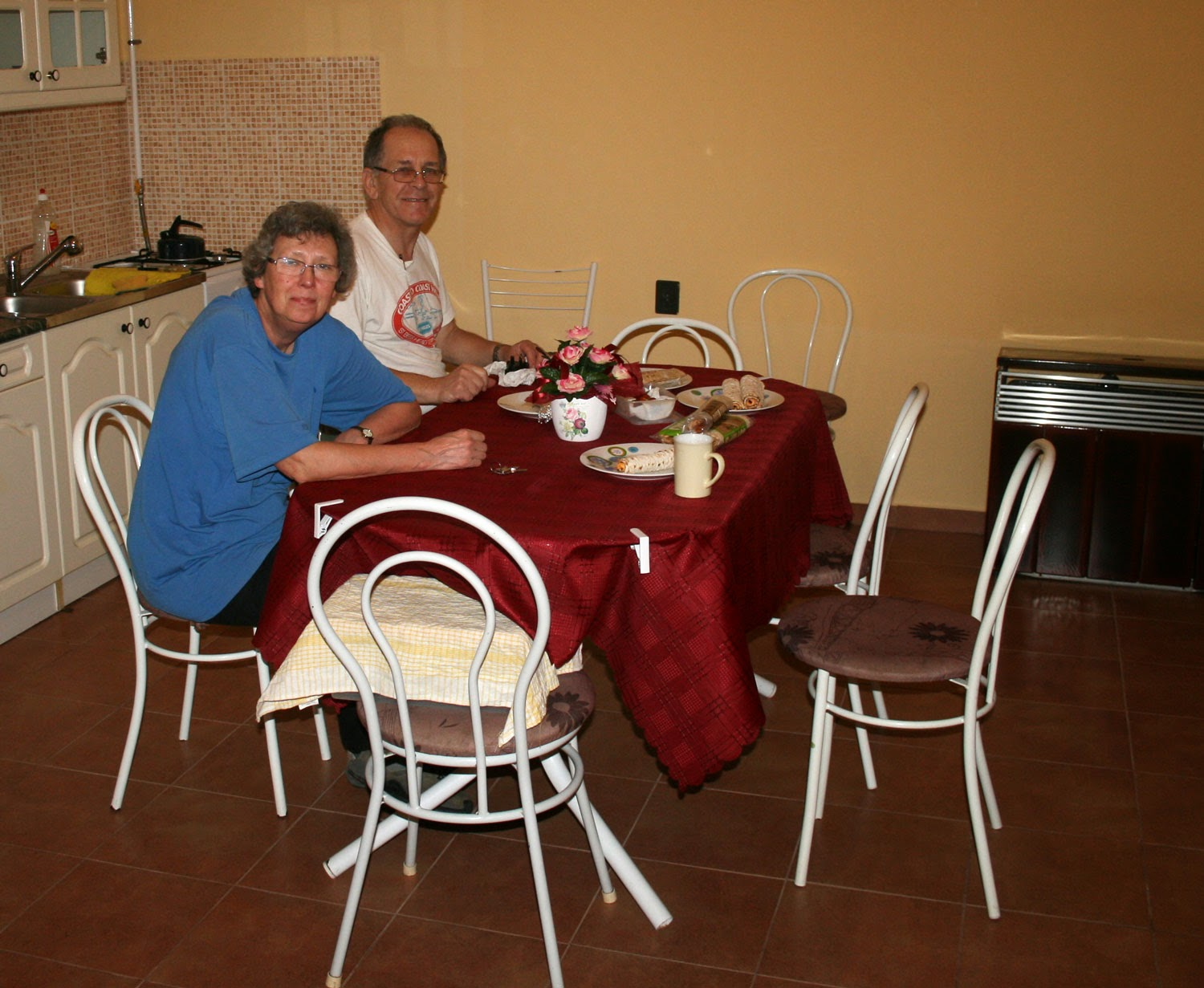 Dinner with my parents
