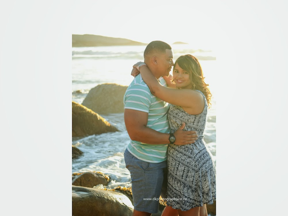 DK Photography LASTWEB-026 Robyn & Angelo's Engagement Shoot on Llandudno Beach { Windhoek to Cape Town }  Cape Town Wedding photographer