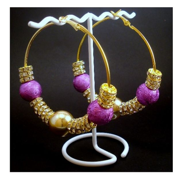 Hoop Earrings Gold