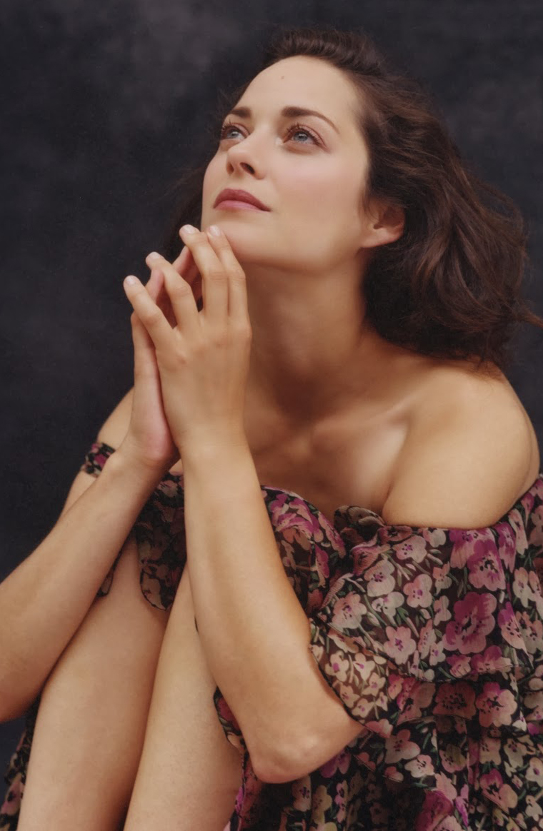 via fashioned by love | Marion Cotillard in Vanity Fair Italy September 2010 (photography: Bruce Weber)