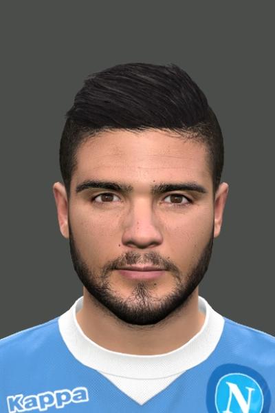 Lorenzo Insigne PES 2016 Face