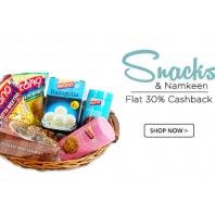 Buy Snacks & Namkeens Extra 35% + 50% Cashback :BuyToEarn