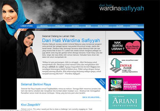 blog wardina - dari hati wardina safiyyah
