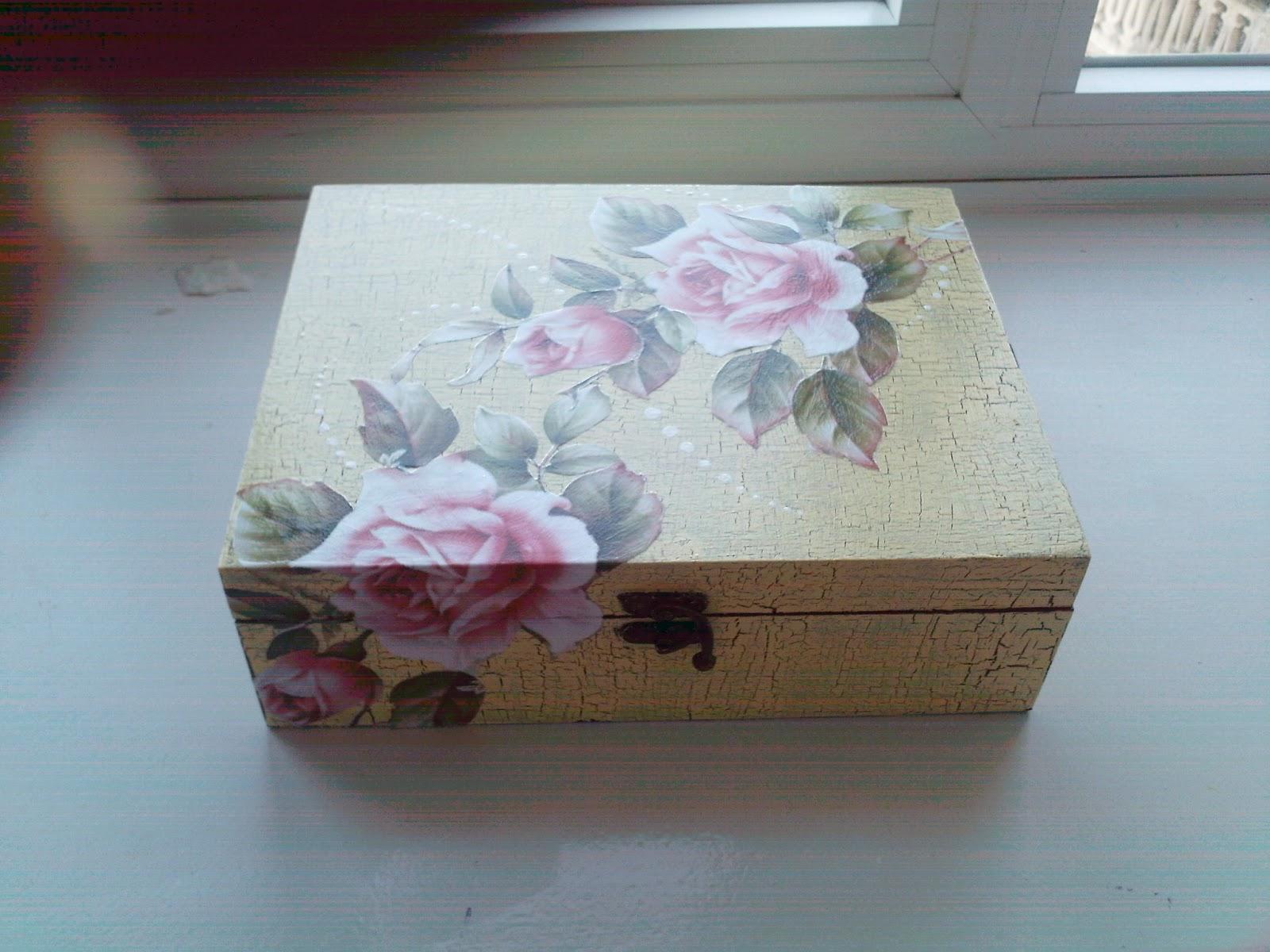 Crea y aprende manualidades cajas decoradas con decoupage - Manualidades cajas decoradas ...