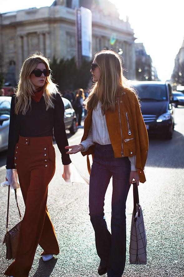 Pantalones campana street style 2015