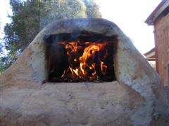 cob oven - click pic for more