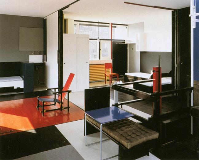 my architectural moleskine gerrit rietveld schr der house. Black Bedroom Furniture Sets. Home Design Ideas