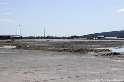 Flygfält Boden