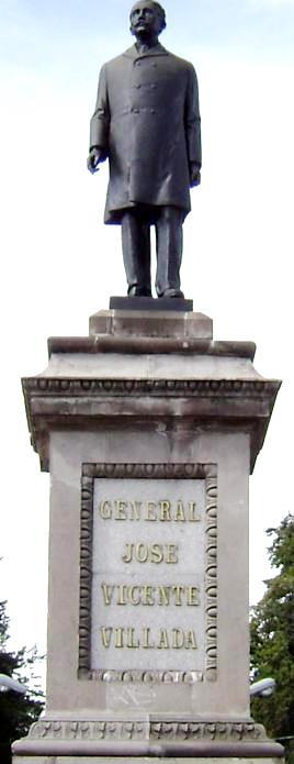 Monumento de José Vicente Villada