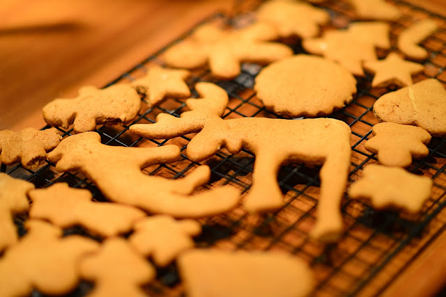 pierniczki wyjęte z piekarnika