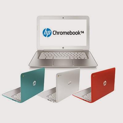HP Chromebook 14 цветовые варианты