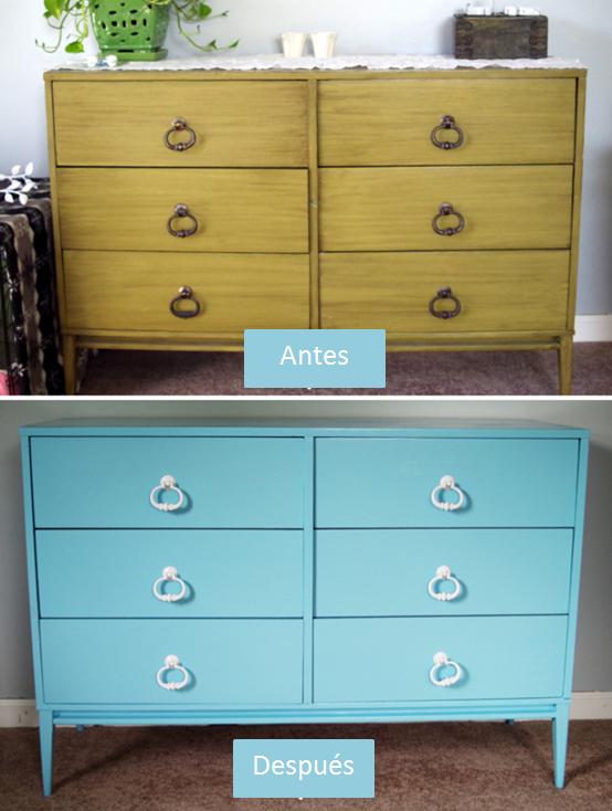 M nica castillo recicla reinventa tus muebles con paintiza - Muebles a la tiza ...