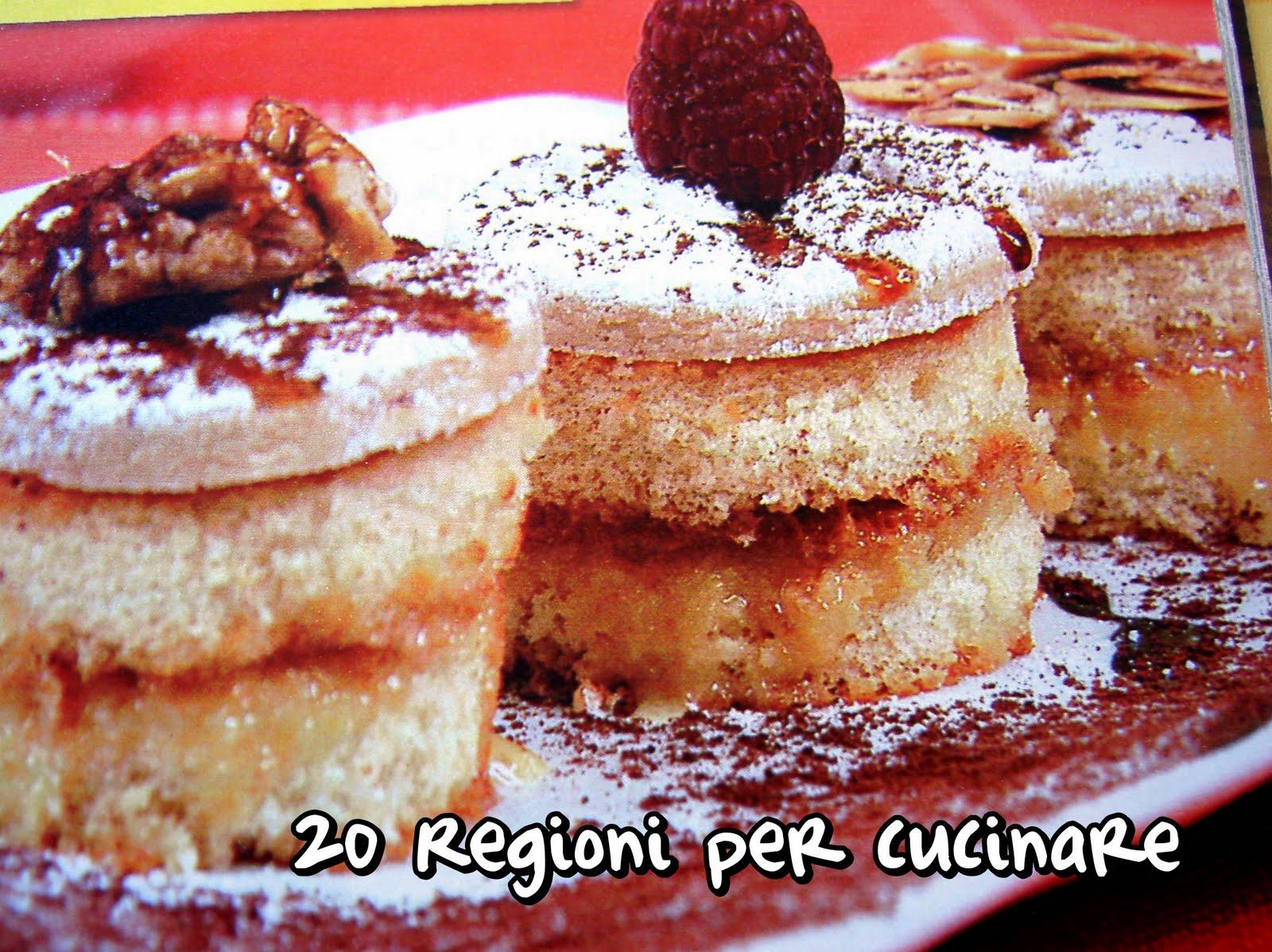 20 regioni per cucinare dolcetti alle mandorle for Cucinare per 20 persone