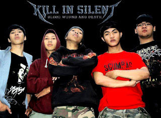 Kill In Silent Band Metalcore Bandung Jawa Barat Indonesia Foto Personil Logo Artwork Wallpaper