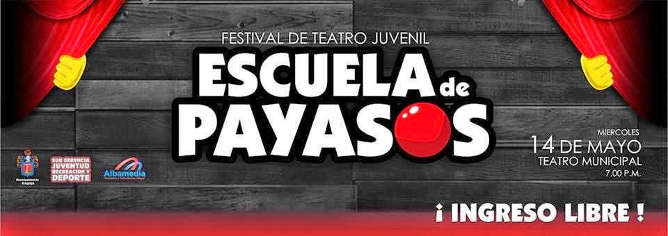 Escuela de payasos - teatro Arequipa