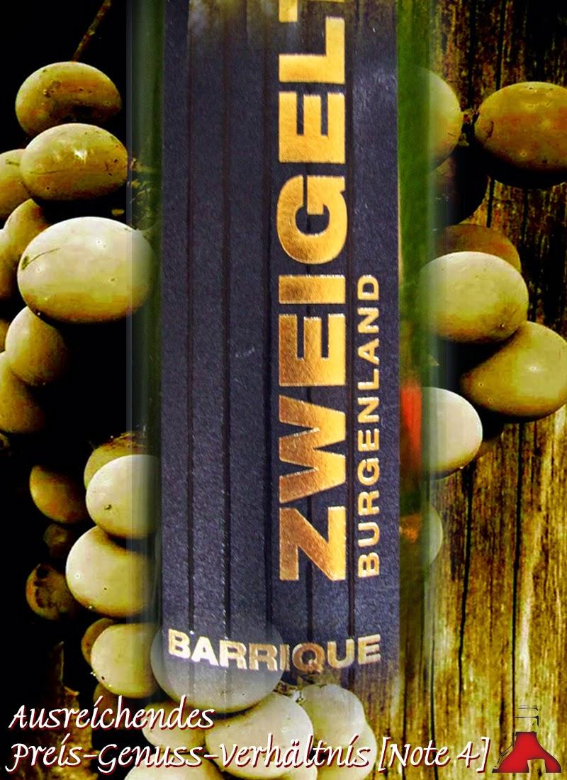 Lidl - Test und Bewertung: Zweigelt Barrique Burgenland 2013