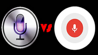 Siri vs Google Now