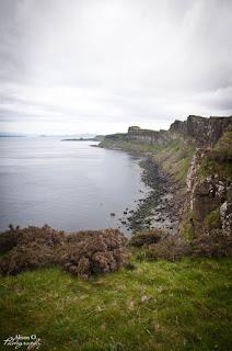 Kilt Rock cascade Isle of Skye Scotland Écosse
