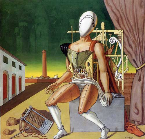 Giorgio De Chirico 1888-1978 | Italian surrealist painter | The Metaphysical art movement