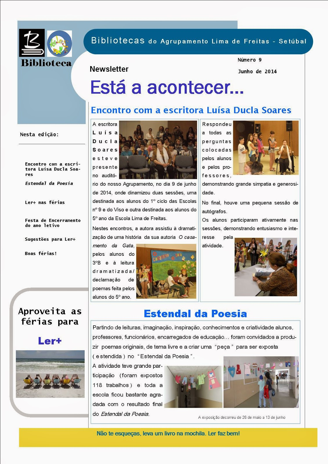 Newsletter de junho