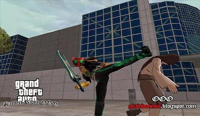 Mod Skin Kamen Rider OOO + Weapon