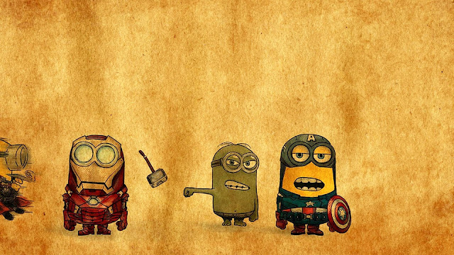 Minions-Avengers-Drawing-HD-Wallpaper
