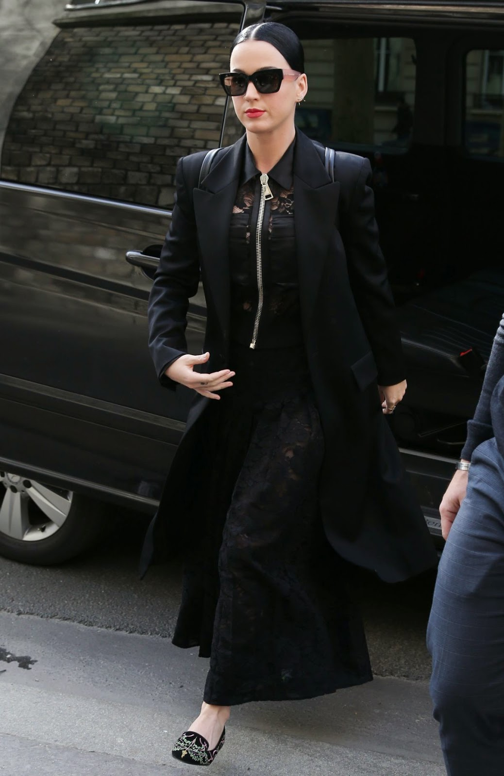 Singer songwriter, Actress @ Katy Perry Out And About In Paris
