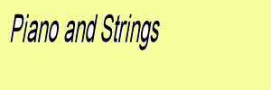 Piano and strings sheet music