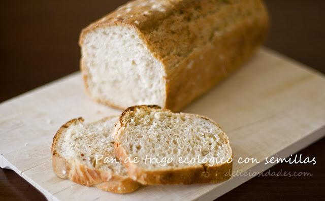 deliciosidades - pan de trigo ecológico con semillas