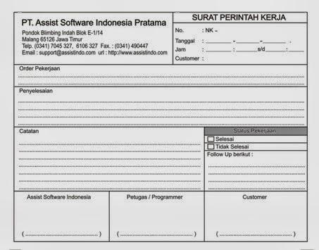 Nota Faktur Kwitansi Invoice Percetakan Murah Di