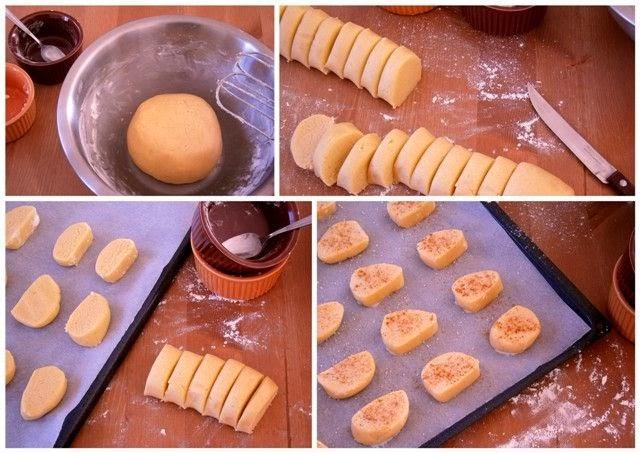 Μπισκότα Ζάχαρης Διαδικασία