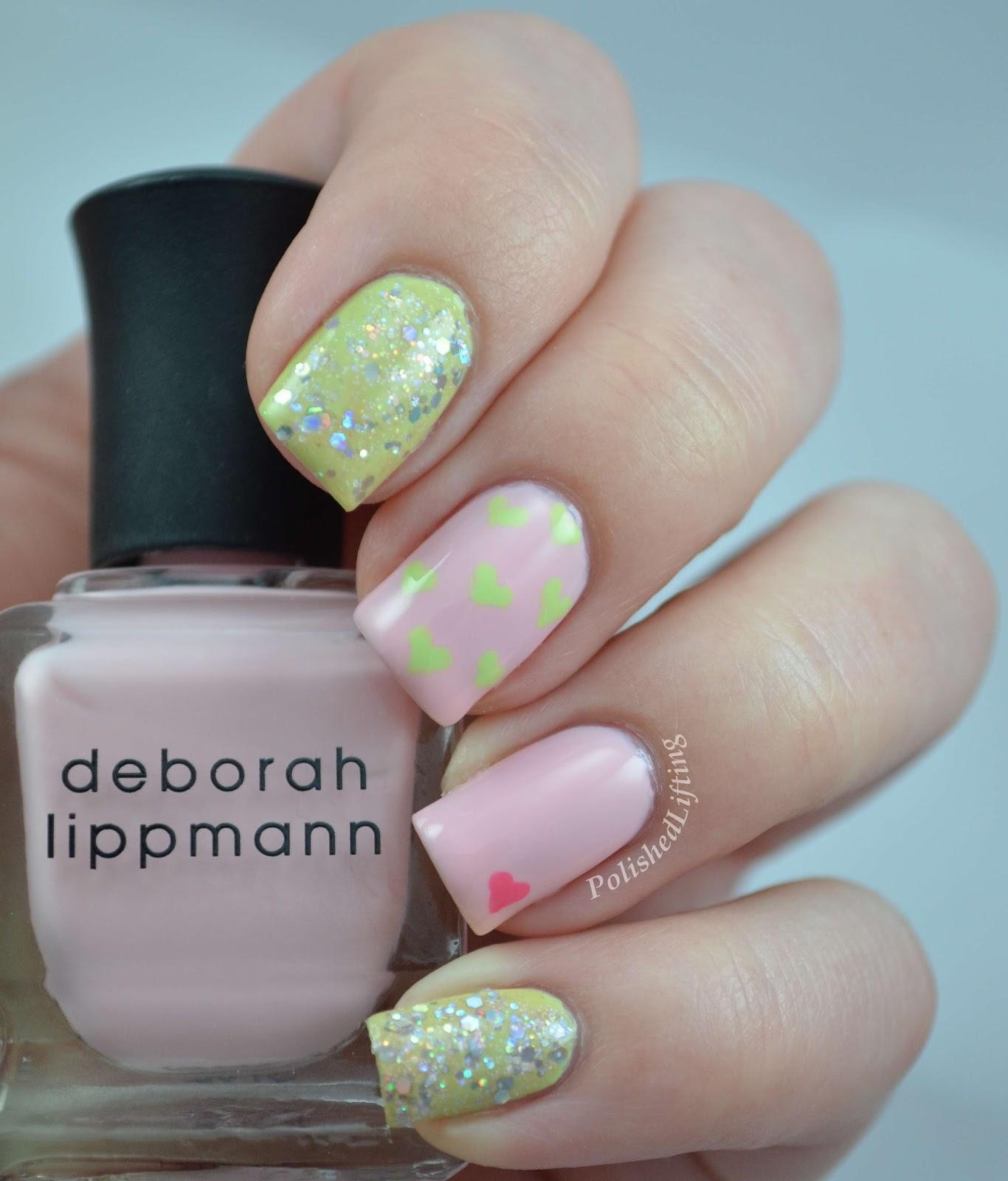Deborah Lippmann Marnie Break 4 Love Champagne Supernova Spring Buds