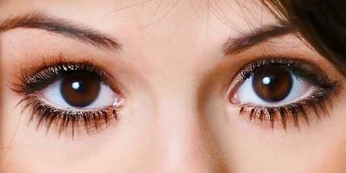 ojos grandes maquillados