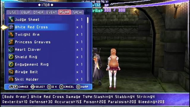 Sword Art Online: Infinity Moment (English Patched) PSP