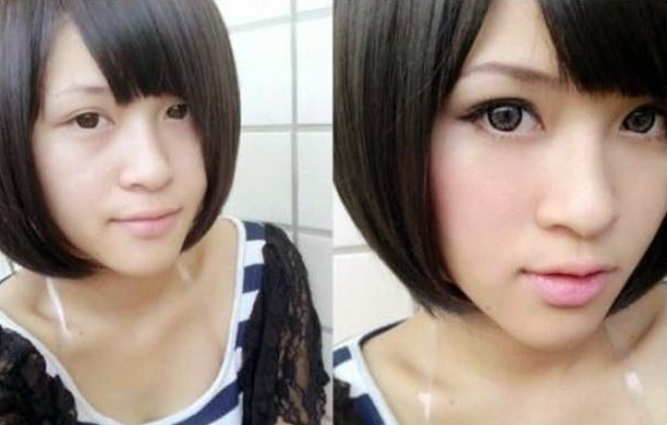 makeup before and after korean - photo #12