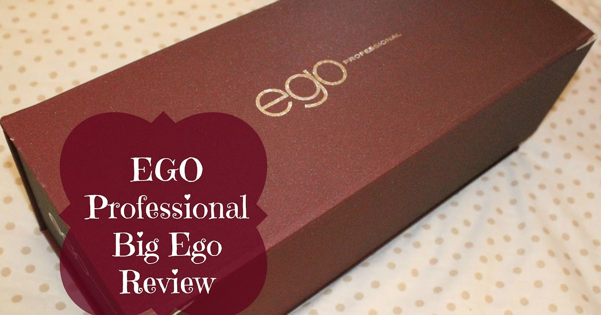 Diary Of A Makeup Geek Blog: EGO Professional Big Ego Review