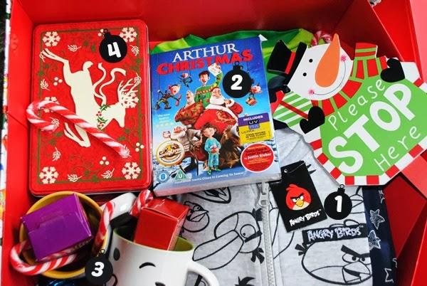 Christmas Eve Present Box