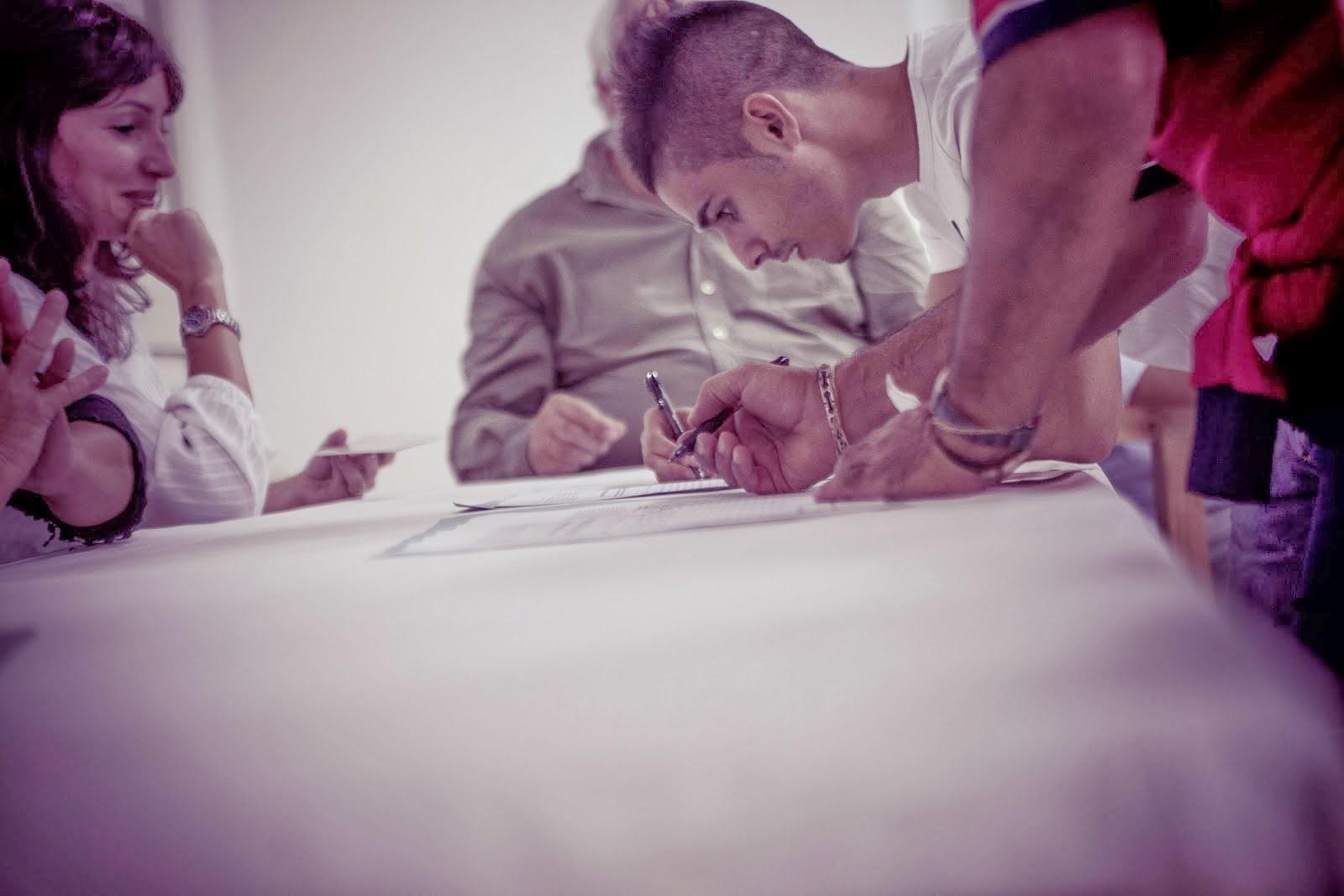 Le firme autenticate...