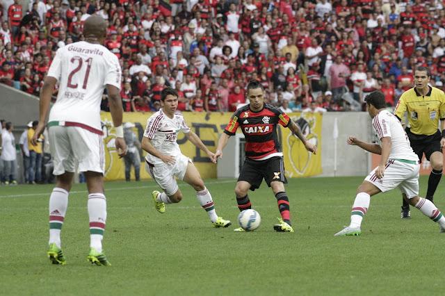 O triunfo no clássico mantém o sonho do G4 vivo para o Rubro-Negro (foto: Gilvan de Souza/Flamengo)