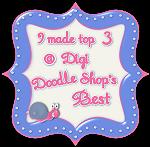 I made top 3 at Digi Doodle Shop