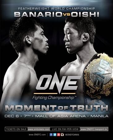 ONE FC Moment of Truth Poster