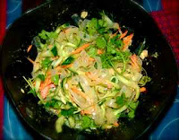 Chinese green bean starch salad