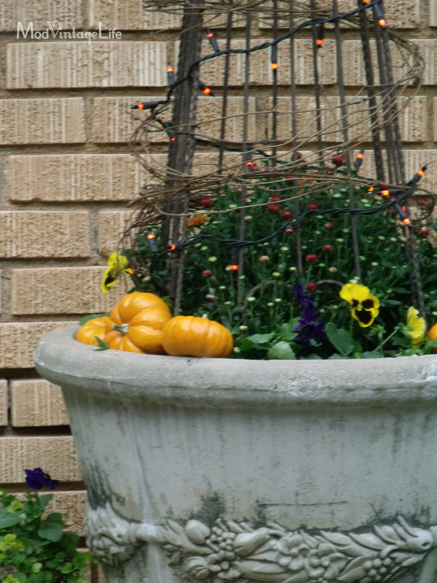 Fall Container Garden blogs de interior design