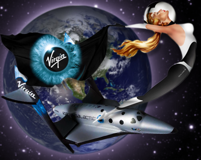 Virgin Galactic, pioneering commercial sub-orbital space flight. Virgin, 2011.