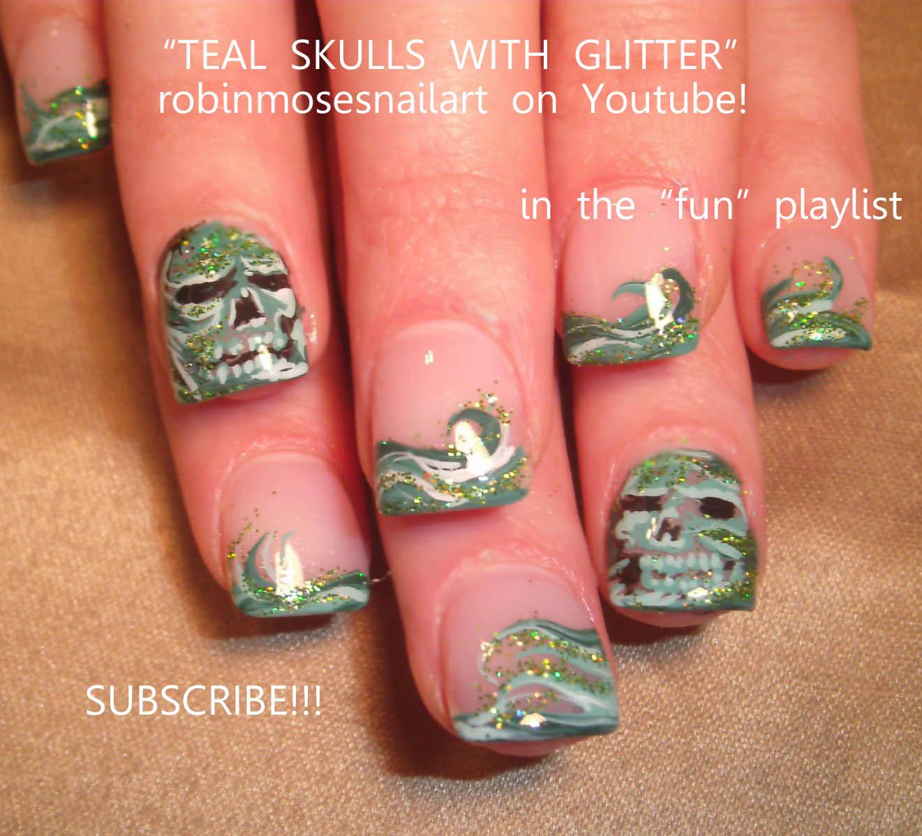 January 2012 Nail Art Design