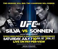 UFC 148 Silva vs Sonnen II