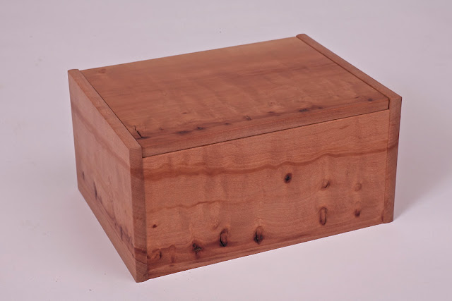 Killscrow, Darrick Rasmussen. Urn Box, Madrone. 2013