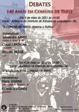 Cartaz evento Unicamp